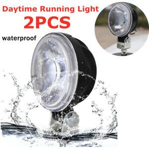 LED Daytime Running Lights Car SUV LED Fog Lamp 12V Truck Running Lights DC 12V