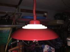 Vintage Pull Down Pendant Lamp Space Age Mid-Century Mod Panton Kartell Poulsen