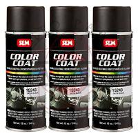 Color Coat Satin Black #15243 SEM15243 Sem Products Install Bay