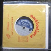 "Unknown Artist - Private Recording 7"" VG Vinyl Acetate 78 Audiodisc"