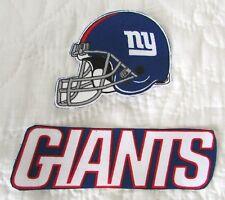 New York Giants no sew iron on appliques