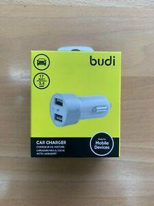 Dual USB Car Charger 2 Port Car-charger Adapter 17watt 3.4AMP