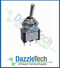 Momentary Toggle Switch SPDT Miniature (ON)-OFF-(ON) SCI TA106A1 3A/6A