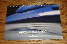 Original 2001 Sea Doo Watercraft Full Line Spiral Bound Sales Brochure 01