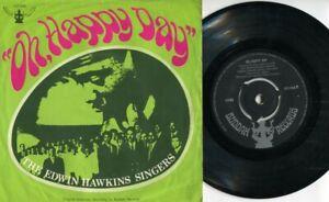 "The Edwin Hawkins Singers Oh, Happy Day Buddha Label Singapore 7"" EP EEP574"
