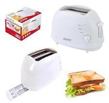 Tostapane elettrico 700 w riscaldamento 2 toast tostiera tosta fette di pane