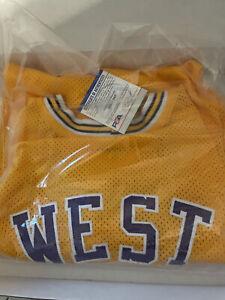 Jerry West Autographed/Signed Jersey JSA COA Los Angeles Lakers LA