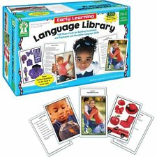 Kids Language Learning Cards 160 Photo English Educational Study Tool Children