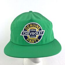 Chevrolet Genuine Parts Men's Hat Snapback Green Nylon Vintage USA 90's h9