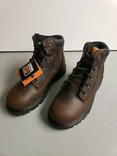 """Timberland Pro Mens 7 Direct Attach 6"""" Soft Toe Lace Up Boot Brown 85589 FAST!"""
