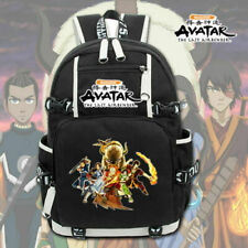 Avatar: The Last Airbender canvas Backpack School Bag laptop travel Bags Mochila