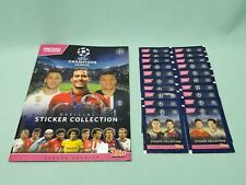 Topps Champions League Sticker 2019/2020 Sammelalbum + 20 Tüten 19/20 Album