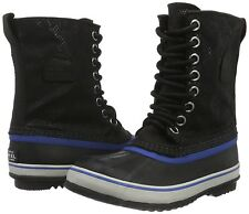NEW Sorel Women's 1964 Premium CVS Boot- BLACK/FOSSIL- 7.5...Wool/Waterproof!