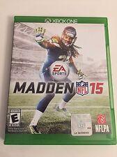 Madden NFL 15 (Microsoft Xbox One, 2014) - Free Shipping