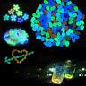 50x/Set Artificial Luminous Pebble Stone Walkway Aquarium Fish Tank Decor New