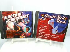 ROCKIN CHRISTMAS CD Album WEIRD AL Hall & Oates FATS DOMINO Al Green THE ALARM