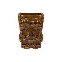 Spongebob Squarepants Collector's Edition Driftwood Brown Tiki Mug Cup 32 OZ