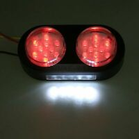 25 LED Motorcycle Brake Tail and License Plate Lights 12V New