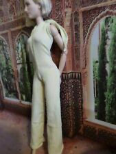 Barbie / Integrity (fits curvy Barbie too)1/6 scale -Yellow JUMPSUIT-NEW!