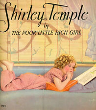 Shirley Temple in The Poor Little Rich Girl 1936 First Edition Softbound Book