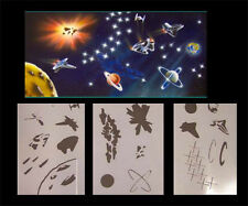 Airbrush Schablonen Set Weltraum 2