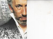 SIMON CALLOW HAND SIGNED 6 X 4 INCH PHOTO CARD WITH PERSONAL MESSAGE ON REVERSE