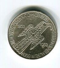 5 DM Silber 1952 Germanisches Museum original und echt (B40)