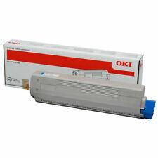 Original OKI Toner 44844507 cyan neu A-Ware