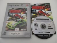 BURNOUT 2 POINT OF IMPACT - SONY PLAYSTATION 2 - Jeu PS2 PAL Fr COMPLET