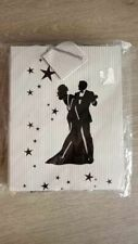 """Lot of 10 Wedding Party Gift Bags Bride and Groom about 8x10"""""""