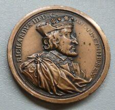 Richard III Dassier réamorçage médaillon Kings & Queens of England Série