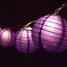 """4"""" Purple Round Shaped Party String Lights"""