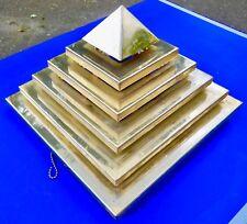 BRACKET PYRAMID,WALL OR CEILING LIGHT MODERNIST BAUHAUS CONSTRUCTIVIST