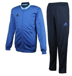 Adidas Men Condivo 16 PES GIMO Suit Set Blue Navy Training Jacket Pant AX6543