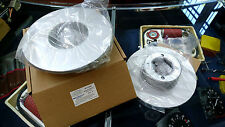 BMW/02 2002 ti 2002 Tii Disco del Freno Set Anteriore 256 mm hochgekohlt tabulazione NUOVO!!!
