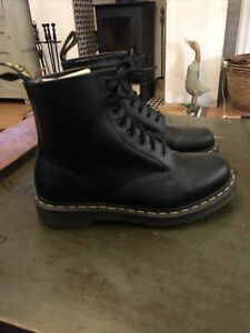 Dr Martens 1460 Smooth Leather Boots Black Size 6
