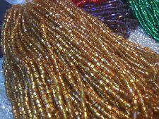 10000 Perles sur Fil,Dorées,Verre de boheme anciennes,80g/vintage glass beads