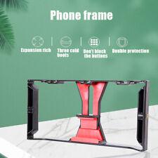 Video Camera Cage Stabilizer Mount Holder Handheld Frame Film Rig Vlog Phone-jx