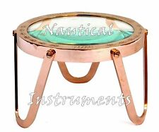 Creative Brass Desk Magnifier Reader Magnifying Glass Vintage Desk Collectible