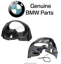 BMW E36 Front Left and Right Fender Liner Genuine 51711977047 51711977048