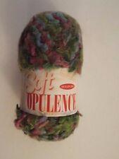 NEW-sullivans soft opulence yarn- #89059  greens,blues,pinks-mixed media-RARE