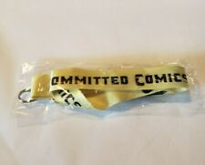 Committed Comics Yellow Lanyard New