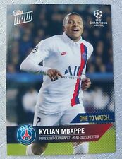 Topps Now Kylian Mbappe Paris St. Germain- One to Watch card