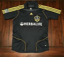 MLS Soccer LA Galaxy David Beckham Adidas Soccer Jersey Youth Kids Medium