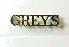 1953-71 Royal Scots Greys Staybrite Anodised Shoulder Title Original
