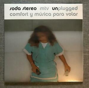 SODA STEREO - COMFORT Y MUSICA PARA VOLAR MTV UNPLUGGED (New 2 LP Sealed Vinyl)