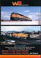 Union Pacific Diesels Double Feature 2 DVD Set DDA40X UP Centennials #6922