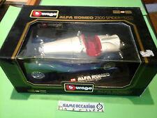 ALFA ROMEO 2300 SPIDER 1932 COD.3008 BURAGO 1/18 METAL VOITURE MINIATURE CAR