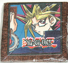 NEW  ~Yu-Gi-Oh!  BROWN  16-SMALL DESSERT  NAPKINS   PARTY SUPPLIES