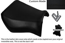 BLACK STITCH  CUSTOM FITS YAMAHA MT 03 06-13 FRONT LEATHER SEAT COVER ONLY
